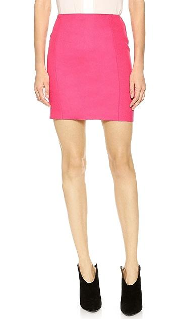Cedric Charlier Wool Skirt