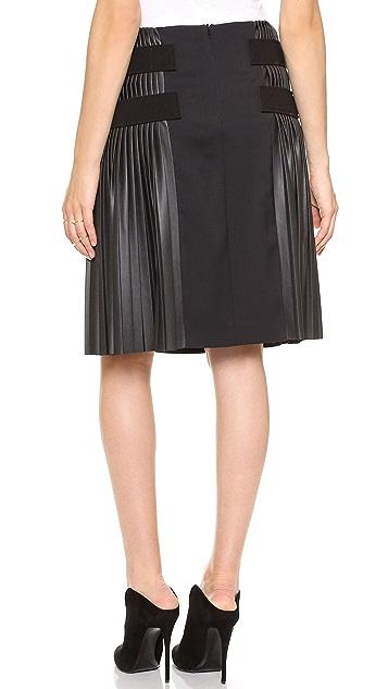 Cedric Charlier Pleated Skirt