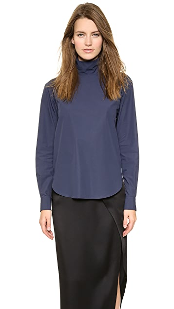 Cedric Charlier Turtleneck Top