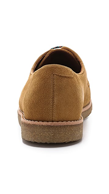 Centre Commercial Army Suede Shoes