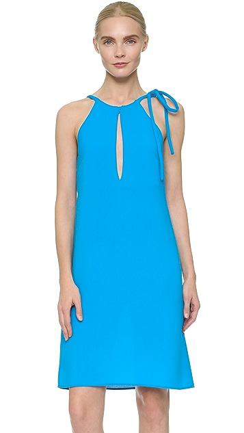 Christopher Esber Seychelles Neck Tie Dress