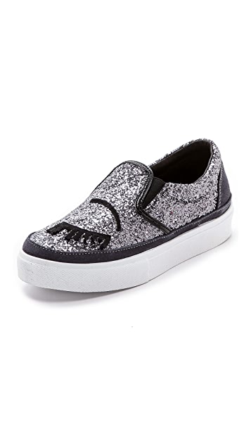 Chiara Ferragni Slip On Sneakers