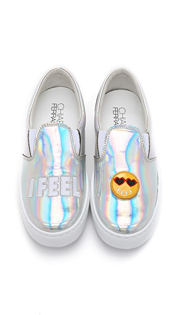 Chiara Ferragni I Feel Slip On Sneakers