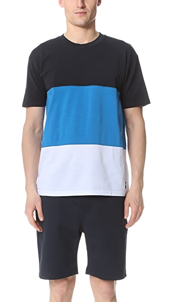 Capital Goods Block Pique Tee