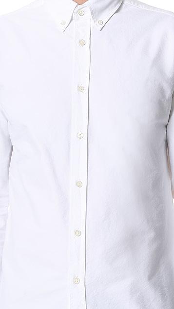Capital Goods Button Down Oxford Shirt