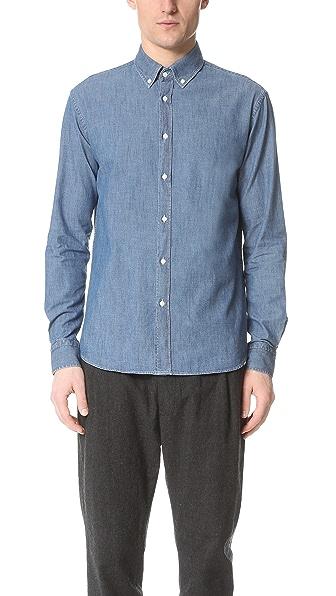 Capital Goods Button Down Chambray Shirt