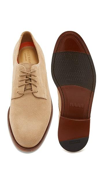 Cole Haan Carter Grand Plain Toe Oxfords