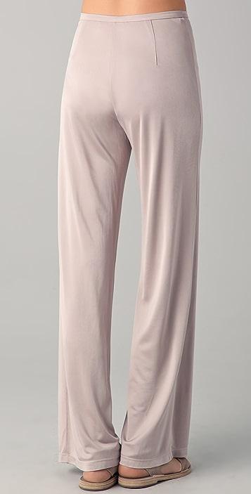 Chalayan Grey Line Wide Leg Pants