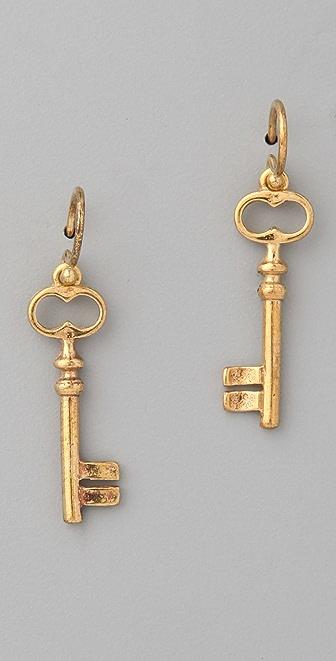 Chan Luu Key Earrings