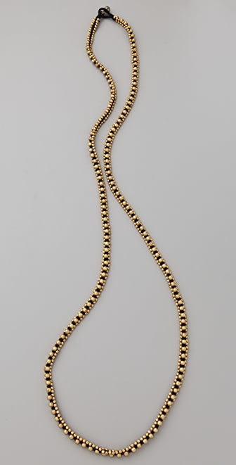 Chan Luu Brass Nugget Cord Necklace / Bracelet