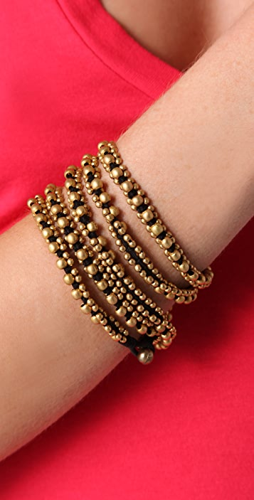 Chan Luu Brass Nugget Cord Necklace / Bracelet
