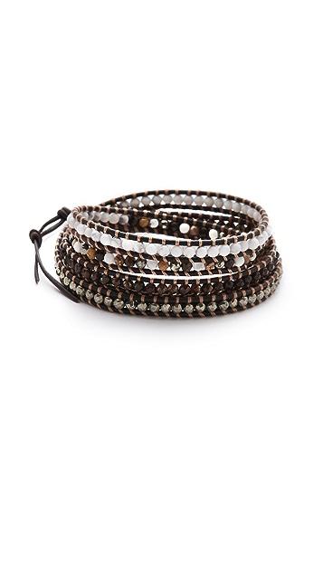 Chan Luu Mixed Bead Wrap Bracelet