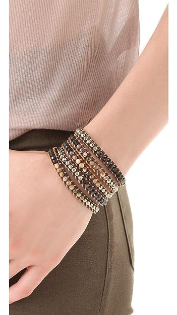 Chan Luu Abalone Wrap Bracelet