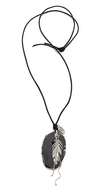 Chan Luu Agate Pendant Necklace