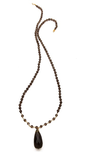 Chan Luu Smokey Rosary Necklace