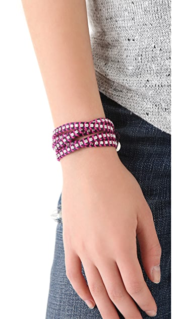 Chan Luu Neon Wrap Bracelet