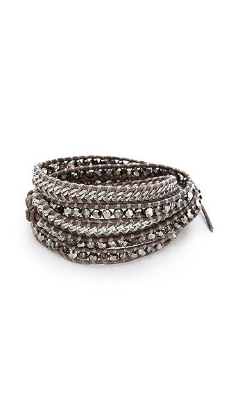 Chan Luu Bead & Chain Wrap Bracelet