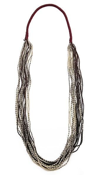 Chan Luu Multi Strand Beaded Necklace