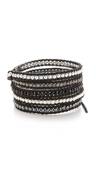 Chan Luu Nugget & Imitation Pearl Bracelet