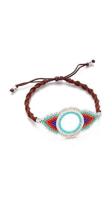 Chan Luu Beaded Eye Bracelet