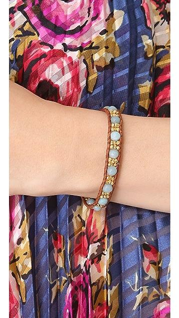 Chan Luu Amazonite Beaded Bracelet