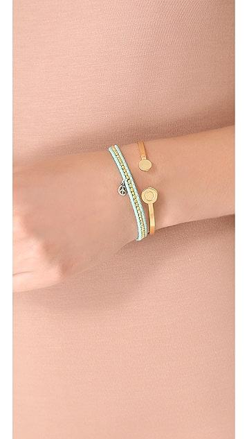Chan Luu Skinny Beaded Wrap Bracelet