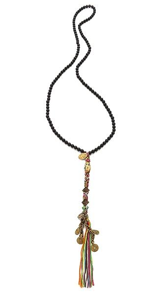 Chan Luu Onyx Beaded Necklace