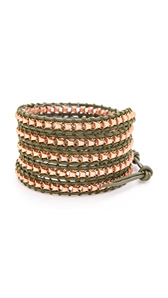 Chan Luu Beaded Wrap Bracelet