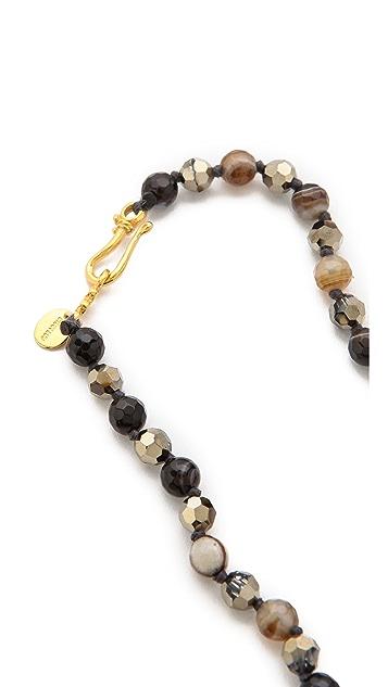 Chan Luu Sardonyx Beaded Necklace