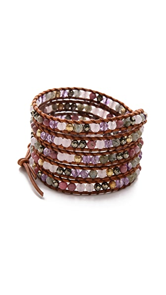Chan Luu Colorful Breaded Wrap Bracelet