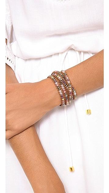 Chan Luu Colorful Breaded Wrap Bracelet