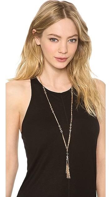 Chan Luu Chain Tassel Necklace
