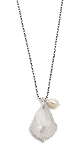 Chan Luu Crystal Pendant Necklace
