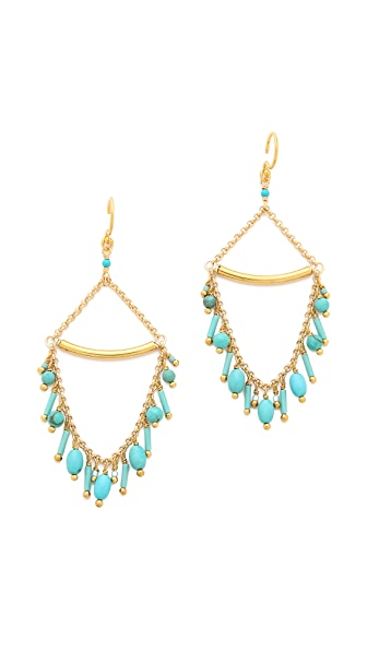 Chan Luu Beaded Loop Earrings