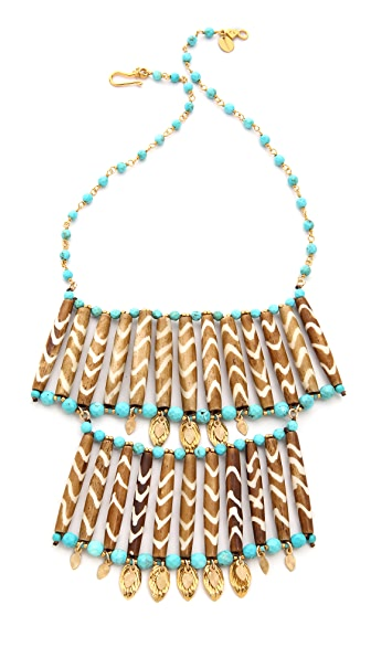 Chan Luu Two Layer Statement Necklace
