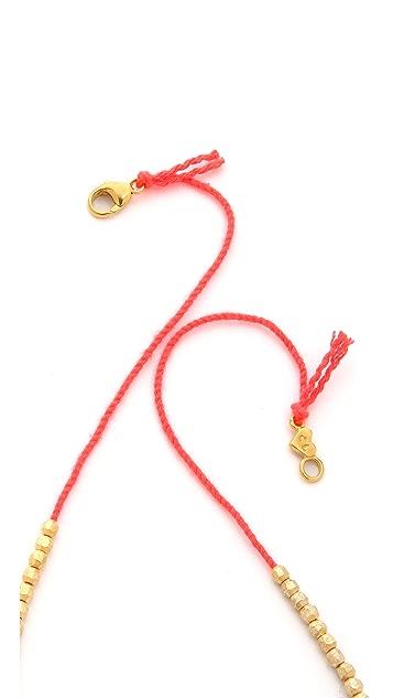 Chan Luu Charm Beaded Necklace