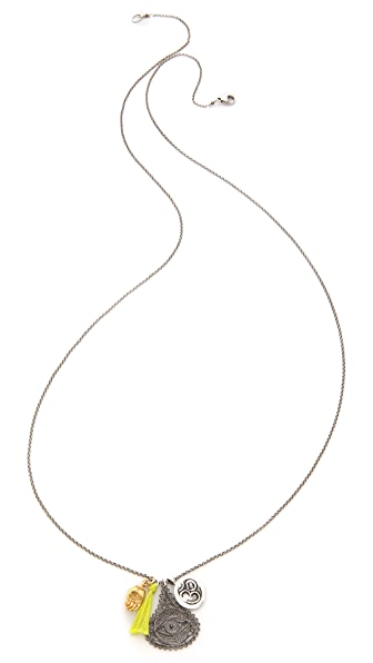 Chan Luu Long Charm Necklace