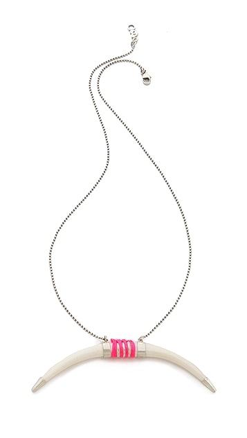Chan Luu Tusk Pendant Necklace