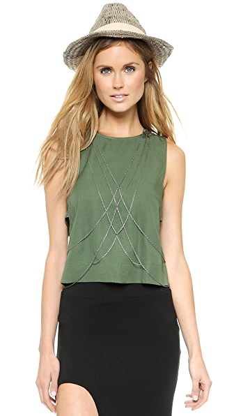 Chan Luu Beaded Body Chain