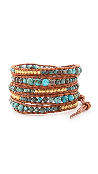 chan luu turquoise wrap bracelet shopbop