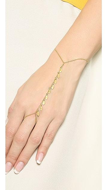 Chan Luu Leaf Hand Chain