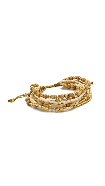 Chan Luu Beaded Slide Bracelet