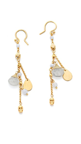 Chan Luu Charm Drop Earrings