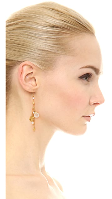 Chan Luu Charm Drop Earrings