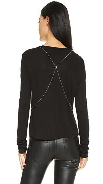 Chan Luu Crystal Body Chain