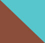 Turquoise Mix/Natural Brown