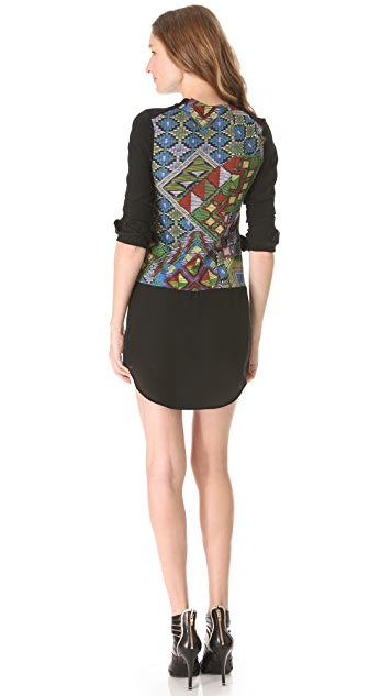 Charles Henry Long Sleeve Dress