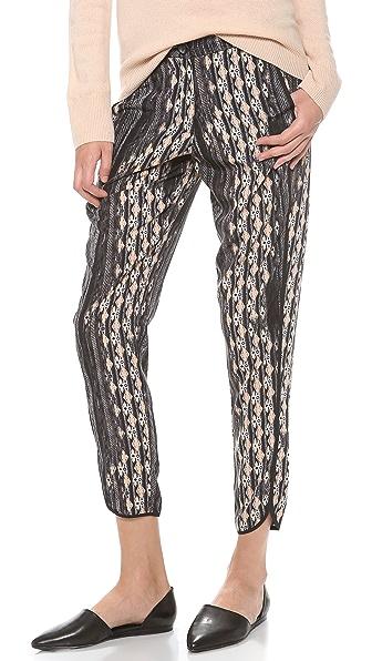 Charles Henry Tuxedo Stripe Pants
