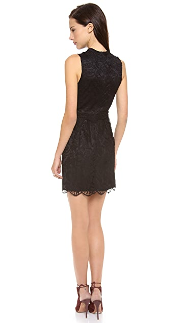Charles Henry Lace Princess Seam Dress