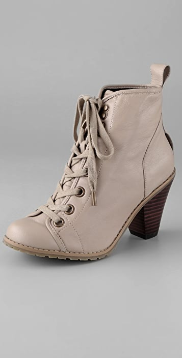 Charlotte Ronson Courtney Combat Booties